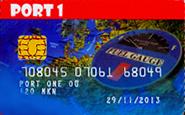 port 1 kaart